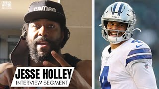 Jesse Holley Reacts To The Dallas Cowboys & Dak Prescott Contract Extension Debacle