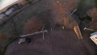 FPV freestyle in the yard