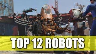 FALLOUT 4 | TOP 12 ROBOTS