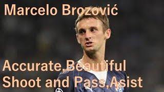 サッカークロアチアの心臓マルセロ・ブロゾビッチ!!!シュート、パス、アシスト集実力派