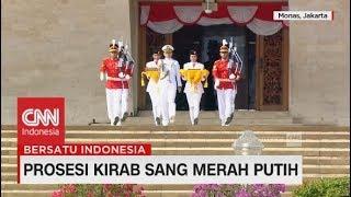 Download Video Prosesi Kirab Sang Merah Putih Dari Monas - Istana Negara MP3 3GP MP4