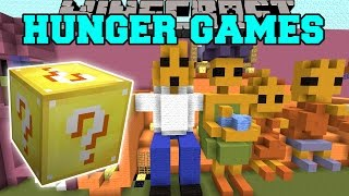 Minecraft: THE SIMPSONS HUNGER GAMES - Lucky Block Mod - Modded Mini-Game