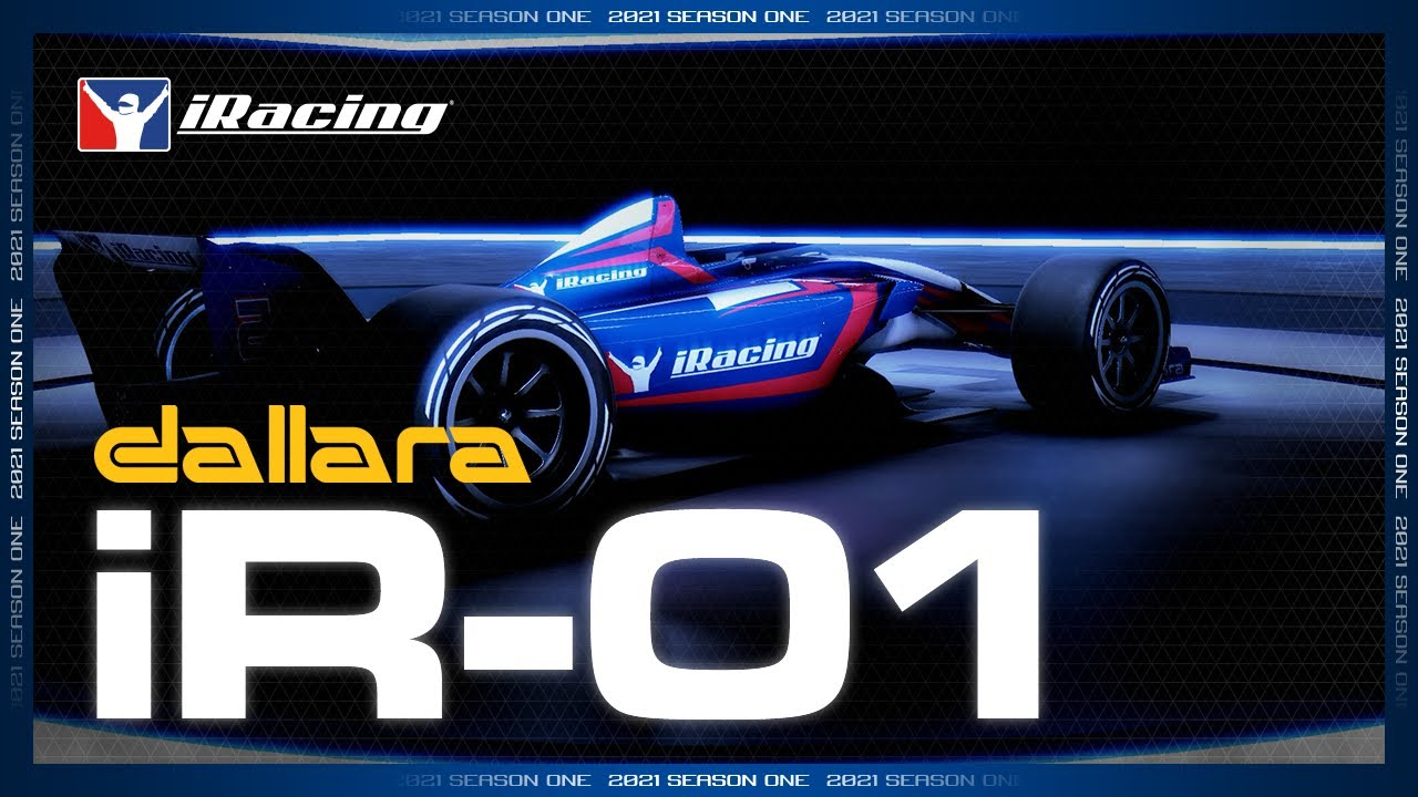 iRacing and Dallara produce iR-01 for sim racing only