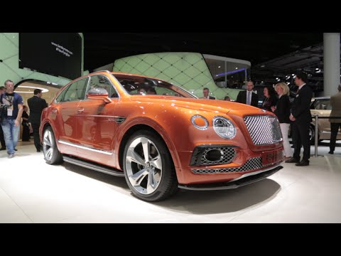 2016 Bentley Bentayga - 2015 Frankfurt Motor Show