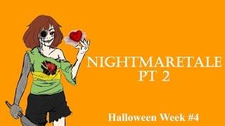 20K SPECIAL! Nightmaretale (Part 2) II Undertale Comic Dub (Halloween #4)
