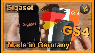 Gigaset GS4 - Android Smartphone Made in Germany!