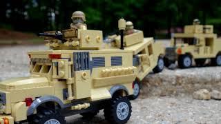 Battle Brick Play With Honor - Custom LEGO Army Military