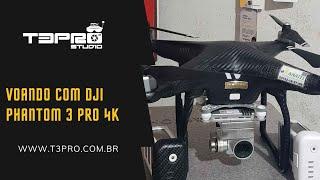 Voando Com Drone DJI Phantom 4