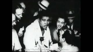 "Joe Louis -vs- Tony ""Two Ton"" Galento 1939 (16mm Film Transfer)"