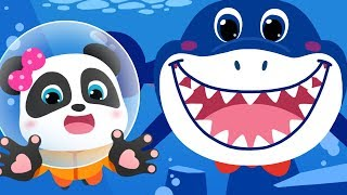 Baby Shark Wanna Make Friends | Shark Song, Dinosaur Rescue Team, Animal Song | BabyBus