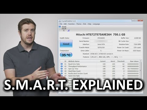 This Video Explains How To Use SMART To Monitor Your Hard Drives For Failures
