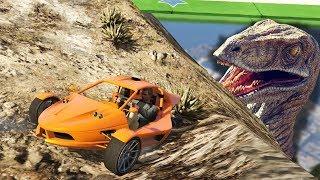 ACHTUNG GEFÄHRLICH - Raptor Parcour   GTA 5 Online