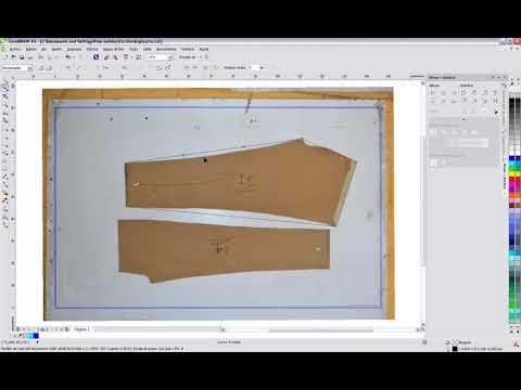 Tutorial - Digitalização de molde por fotografia - игровое