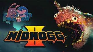 """Обзор Nidhogg 2 """"Продолжение лучшей игры для дранкфайта"""""""