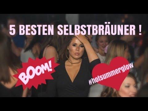 5 BESTEN SELBSTBRÄUNER !!!!!