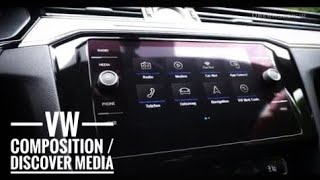 video 2018 vw tiguan infotainment digital instruments. Black Bedroom Furniture Sets. Home Design Ideas