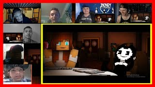 """""""Build Our Machine""""   Bendy And The Ink Machine Music Video REACTION MASHUP"""