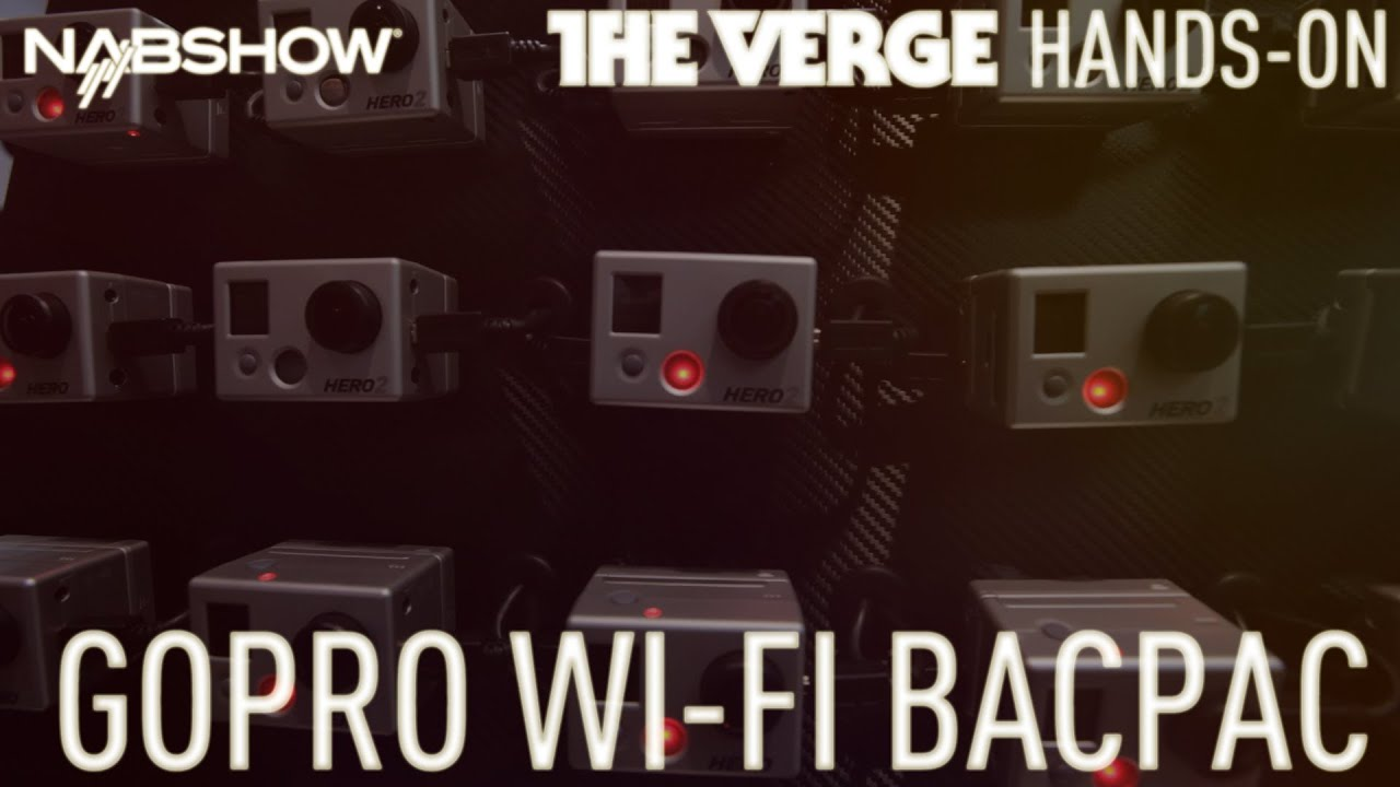 GoPro Wi-Fi BacPac hands-on thumbnail