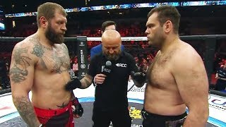 Aleksander Emelianenko crashes Gabriel Gonzaga, MMA fight HD | The Grim Reaper returning