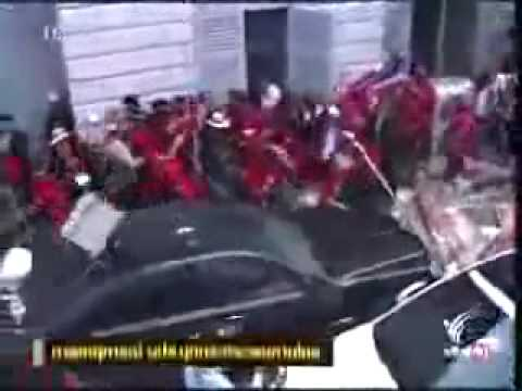 Redshirts Rally & Protest in Thailand