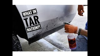 How to remove NASTY ROAD TAR from car paint!