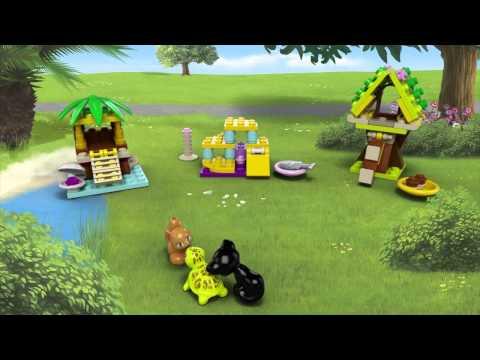 Vidéo LEGO Friends 41018 : Le chat et son aire de jeux