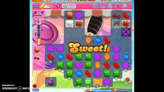 Candy Crush Level 2552 help w/audio tips, hints, tricks