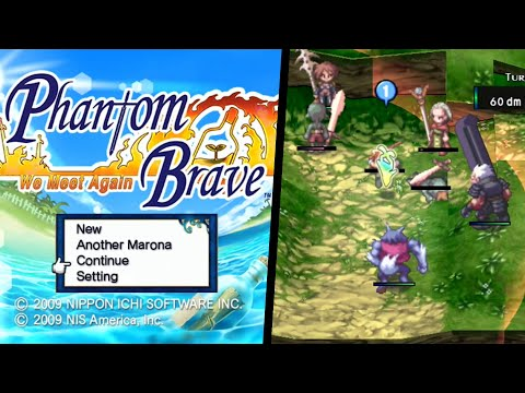 Phantom Brave: We Meet Again ... (Wii)