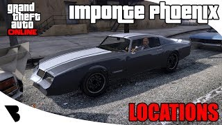 Imponte Phoenix Location GTA Online 2017