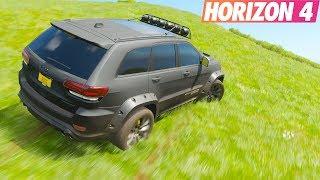 Forza Horizon 4 | Off Road Etkinliği #3 | Jeep Grand Cheroke