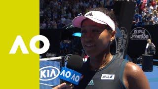 Naomi Osaka on-court interview (4R) | Australian Open 2019