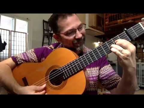 A clip from intro to Bulerias for Flamenco guitar, from my online lessons. 