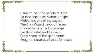 Battlelore - The Grey Wizard Lyrics