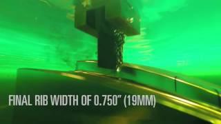 EDNC6 Sinker EDM High-Speed Rib Machining with HyperCut Technology