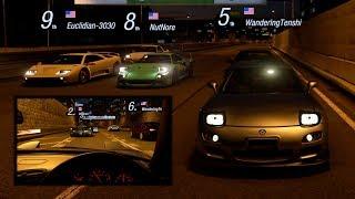 GT Sport:Wangan Cruise & Pulls w/ FD RX7, R32 GTR, MK3 Supra, Diablo & More
