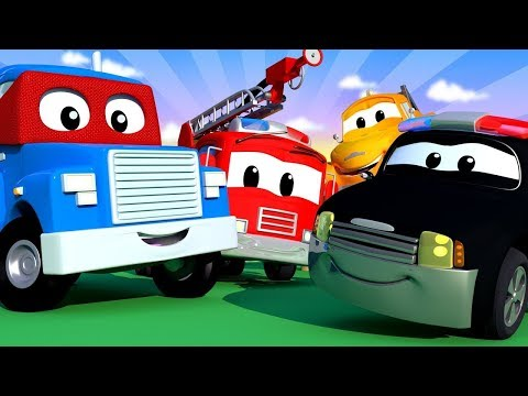 Cidade do Carro OFFICIAL LIVE STREAM - Desenhos Animados para Crianças 🚒 🚓 🚑 transmissão ao vivo