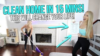 How To Clean Your Home In Only 15 Minutes A Day! (This Will Change Your Life!)