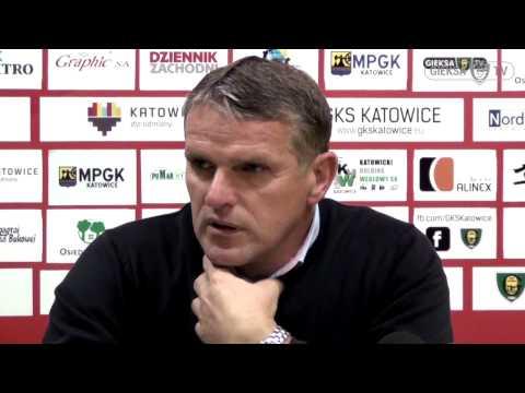 Konferencja prasowa po meczu GKS Katowice - Stomil Olsztyn