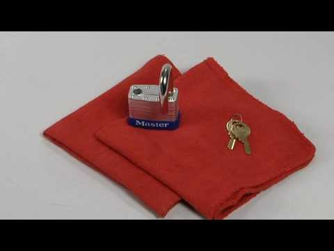 Screen capture of Maintain a Master Lock Padlock