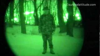 Survival Attitude's Night Vision In Action