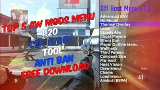 Advanced Warfare Mods NO JAILBREAK 2015 with tool! - Автоматическая