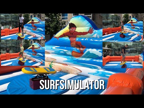 Video van Surf Simulator | Kindershows.nl