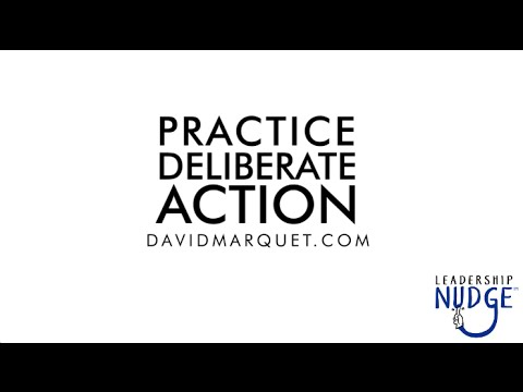 Practice Deliberate Action