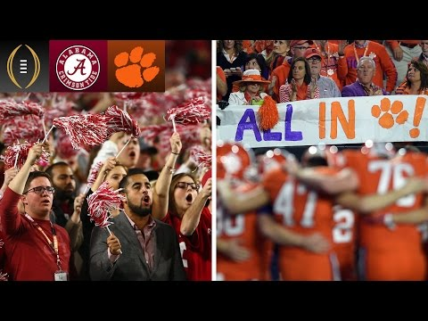 Alabama Or Clemson: Which Fan Base Is More Confident?   Inside The National Championship