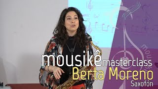 Masterclass Berta Moreno, Mousikê La Laguna