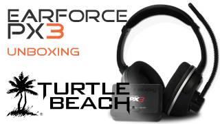 Turtle Beach  Ear Force PX3 - Stereo Gaming Headset Unboxing - Deutsch HD
