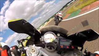 Circuit de Mettet Belgique. Eric 1'10''440 et Jym 1'10''540  1 juin, 2015