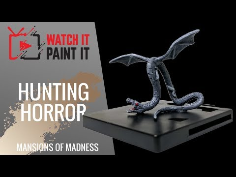 Mansions of Madness - Painting Hunting Horror