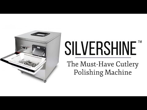 Introducing Silvershine - The Must-Have Cutlery Polishing Machine