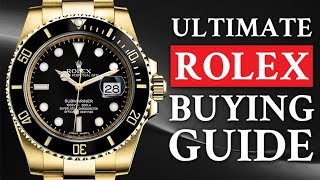 Ultimate Rolex Buying Guide: How To Buy A Luxury Watch   RMRS